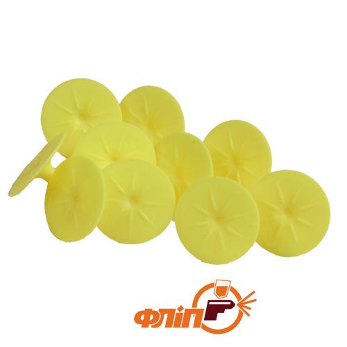 Wurth WYRT Клеевой грибок желтый круглый фото