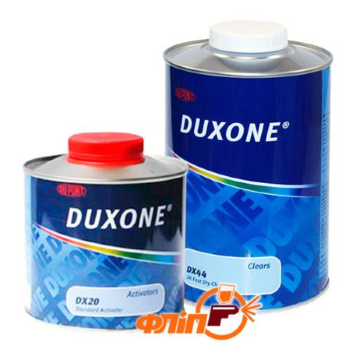 Duxone DX-44 2K быстросохнущий лак 1л и отвердитель 0,5 фото