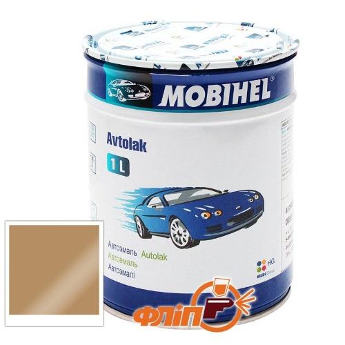 Mobihel 236 Бежевая, 1л – автоэмаль алкидная фото
