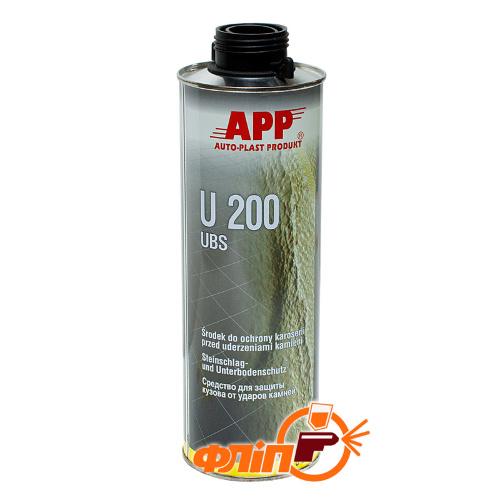 APP U200 Baranek черный, 1л фото