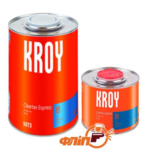 Kroy 2К MS CLEARTEX акриловый  лак (1л) + отвердитель 0,5 л фото