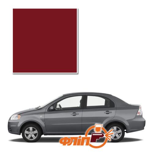 Red Brown 64U – краска для автомобилей Chevrolet фото