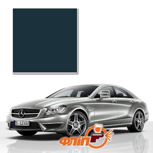 Smaragdschwarz 189 – краска для автомобилей Mercedes фото
