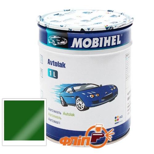 Mobihel 330 Зеленая, 1л – автоэмаль алкидная фото