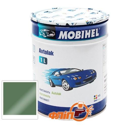 Mobihel 373 Серо-зеленая, 1л – автоэмаль алкидная фото