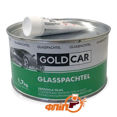 GOLDCAR Шпатлевка GLASS со стекловолокном 1,7кг фото