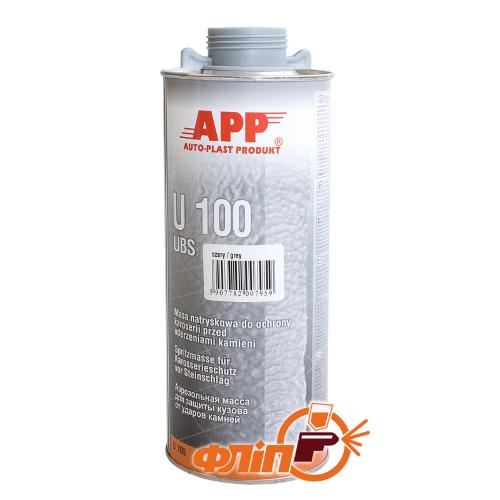 APP U100 Baranek серый, 1л фото