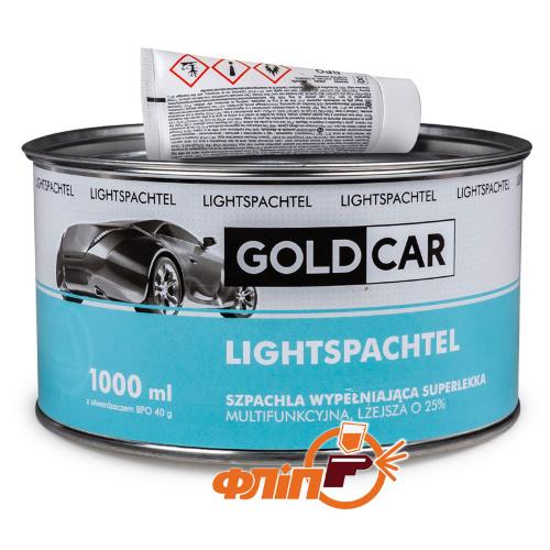 GOLDCAR LIGHT Шпатлевка облегченная, 1л фото
