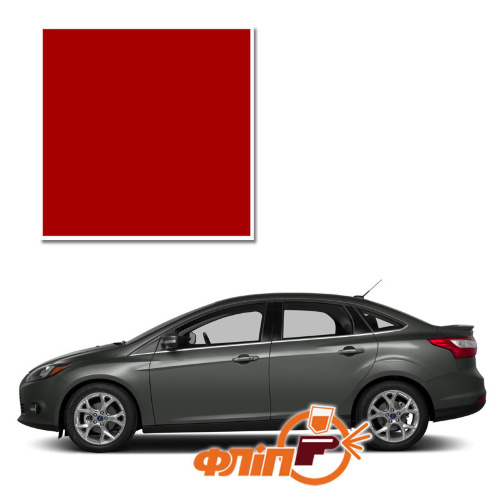 Race Red PQ – краска для автомобилей Ford фото