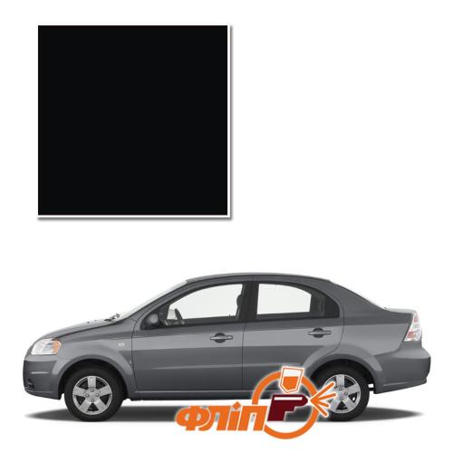 Black 87U – краска для автомобилей Chevrolet фото
