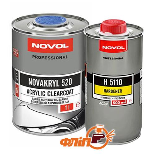 Novol NOVAKRYL 520 VHS 1л + отвердитель 0.5л фото